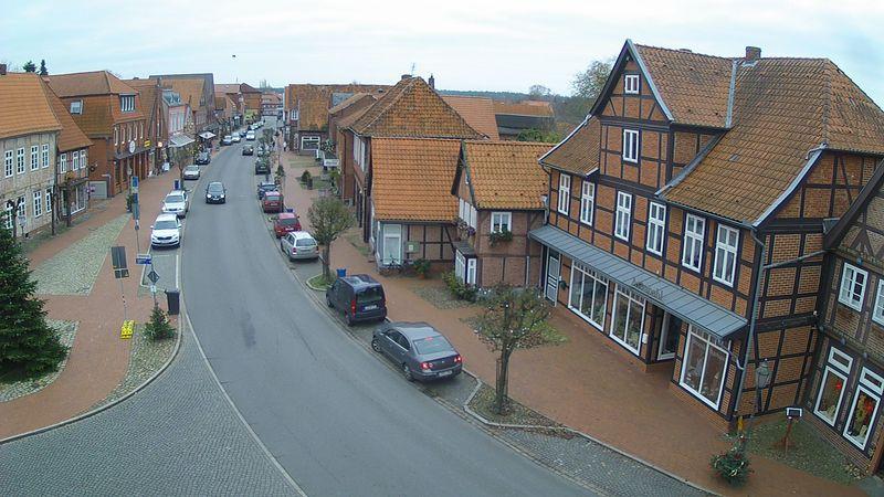 Webcam aus der Breiten Straße in Bleckede